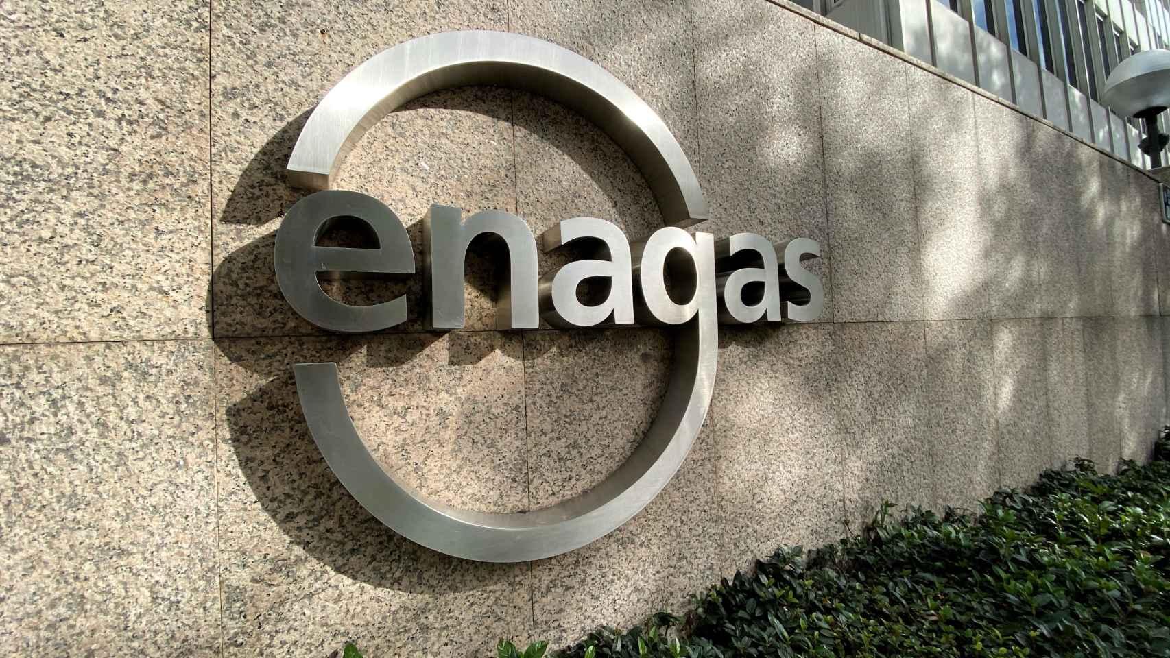 Detalle logo de Enagás.