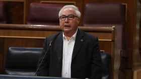 El ministro de Universidades, Manuel Castells, en el Congreso de los Diputados.