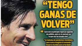 La portada del diario SPORT (28/05/2020)