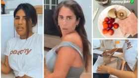 Isa Pantoja y Anabel en montaje de JALEOS en su día a día en Instagram.