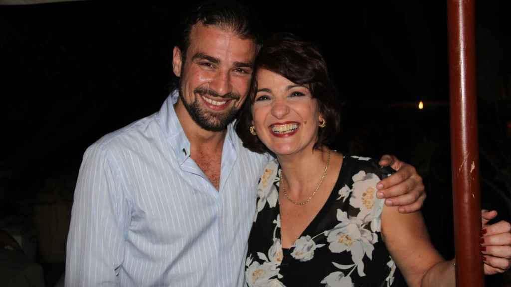 Mario Biondo y Santina D'Alessandro.
