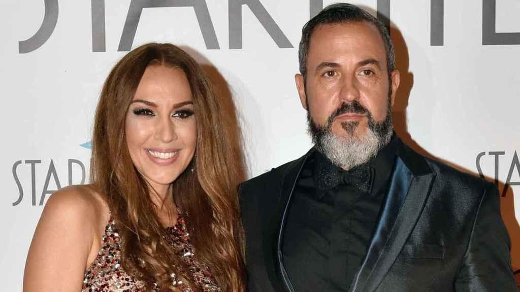 Mónica Naranjo y su exmarido, Óscar Tarruella, en una imagen de archivo.