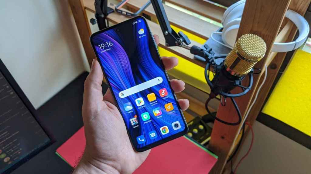 El Xiaomi Redmi Note 9S.