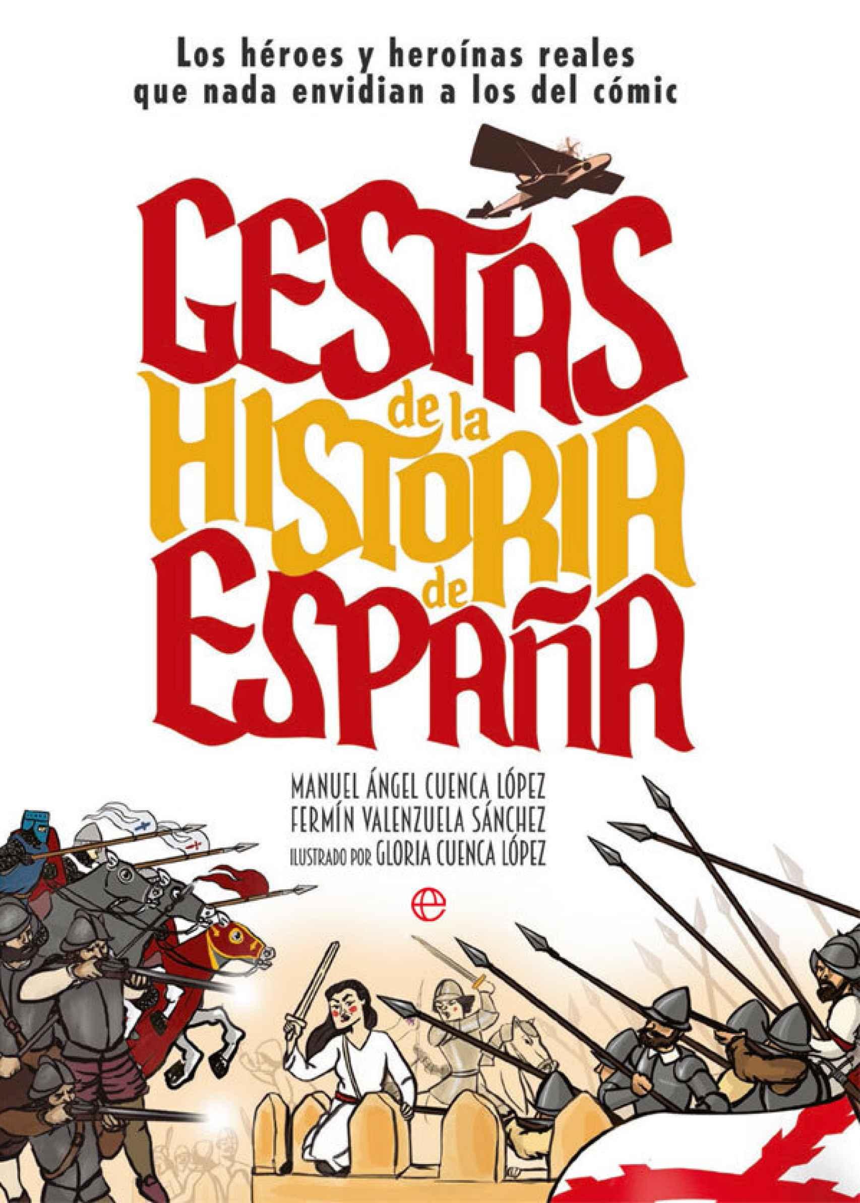 Portada de 'Gestas de la Historia de España'.