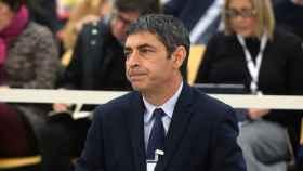Josep Lluis Trapero, el 20 de enero pasado al comienzo del juicio./