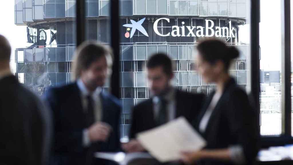 Centro corporativo de CaixaBank en Barcelona.