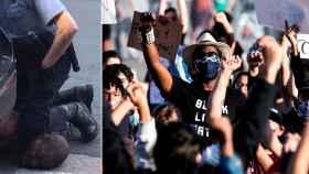 Las imágenes de la brutal detención han encendido las calles