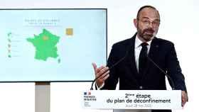 El primer ministro francés explica la evolución de la epidemia