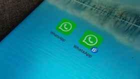 Dos WhatsApp en un mismo móvil.