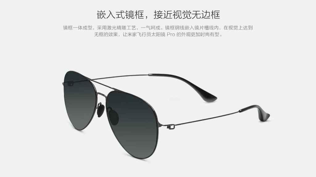 Gafas de sol de Xiaomi.