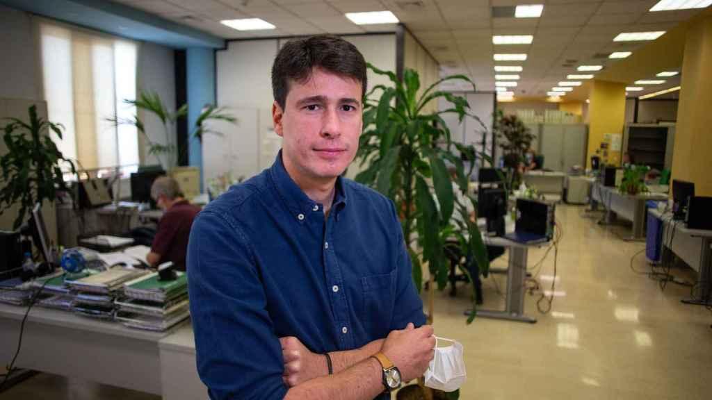 Nicola Lorusso, coordinador del sistema de vigilancia epidemiológica de Andalucía y epidemiólogo del distrito Costa del Sol.