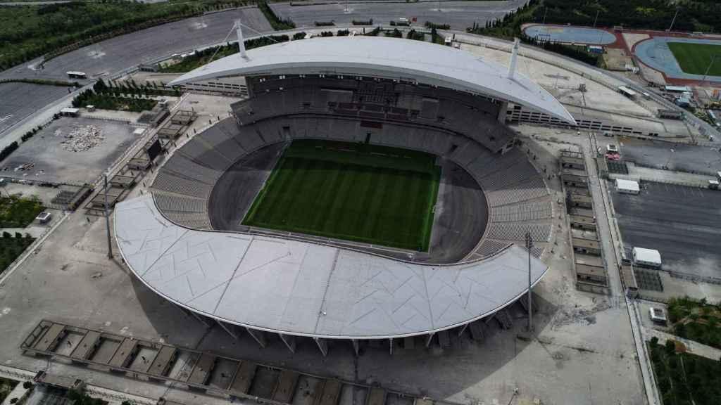 Estadio Olímpico Ataturk, en Estambul, Turquía