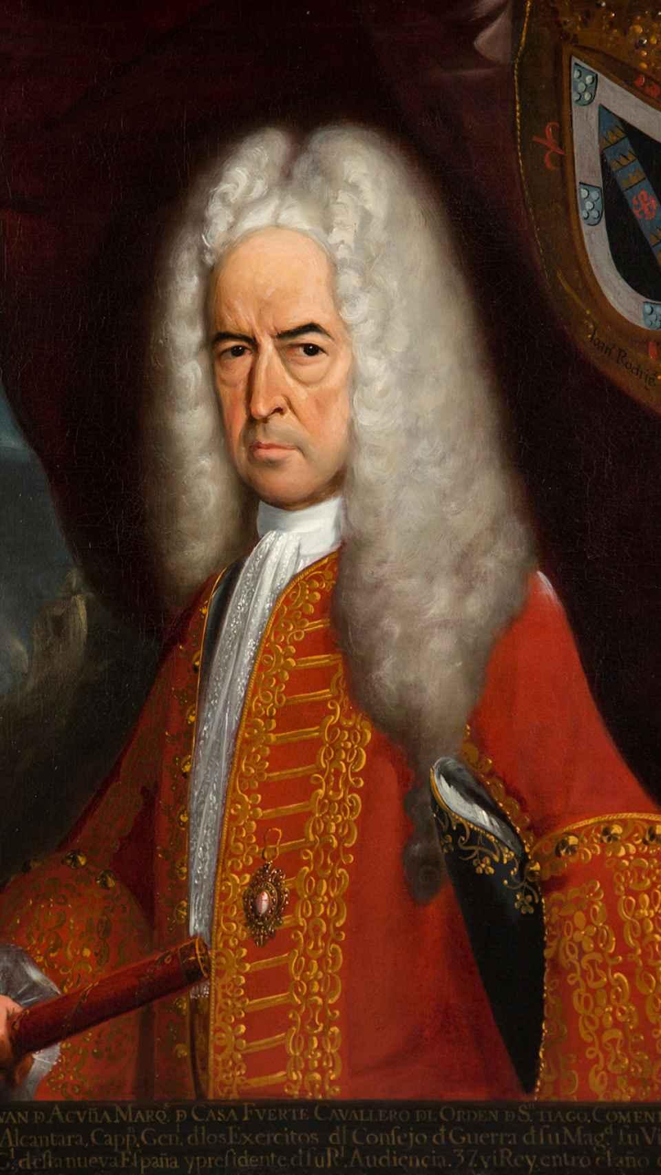 Juan Vázquez de Acuña, I marqués de Casa Fuerte.