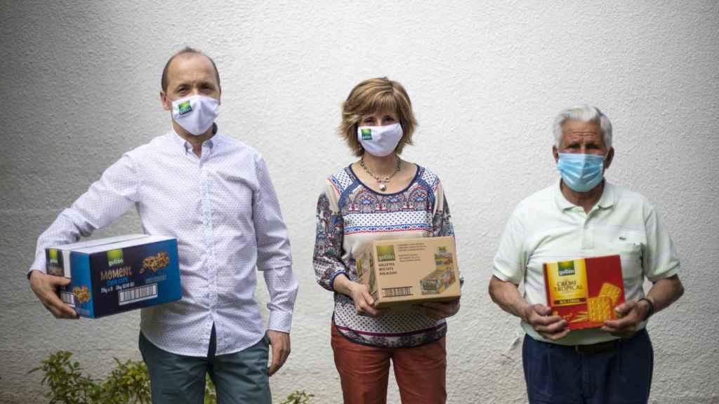 Fran, Feli y Bernando, dos generaciones de trabajadores en Gullón.