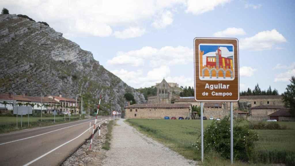 Entrada a Aguilar de Campoo (Palencia)