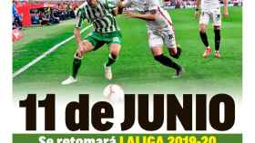 La portada del diario MARCA (30/05/2020)