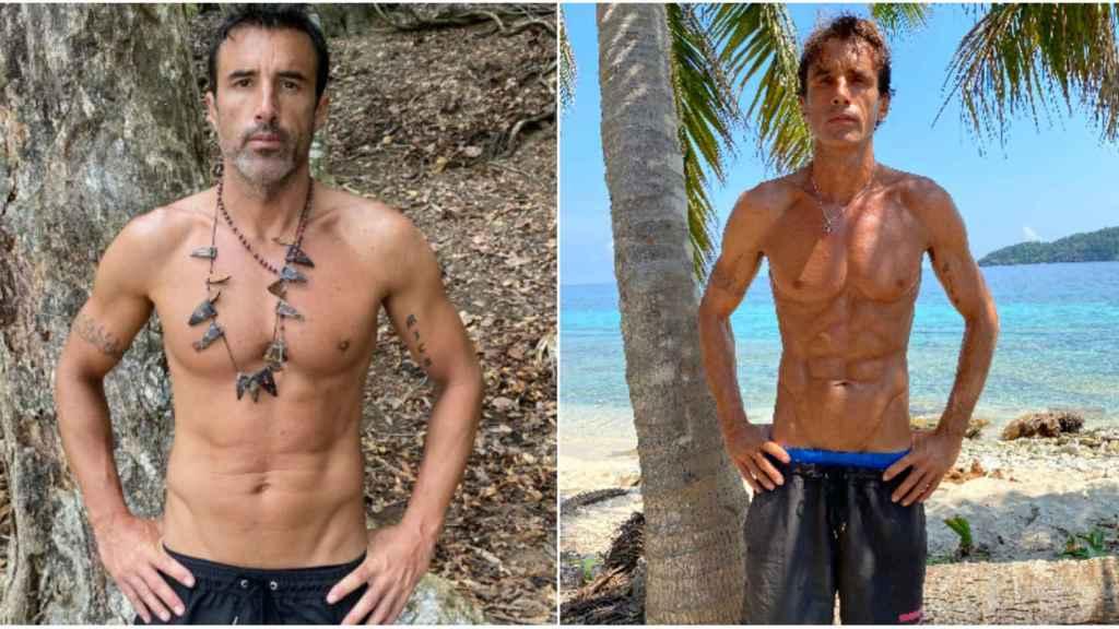 El antes y el después de Hugo Sierra.