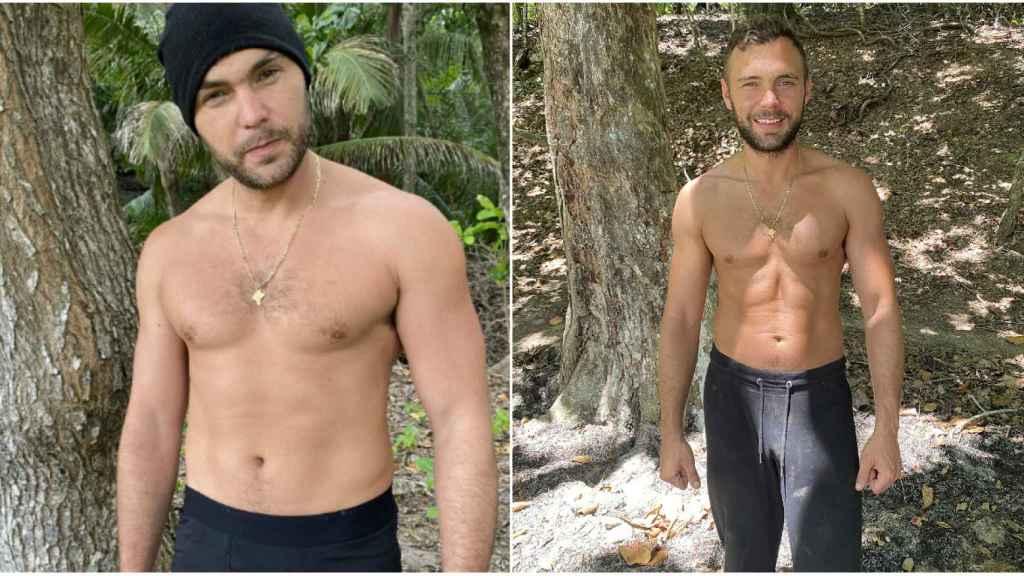 El antes y el después de Cristian Suescun.