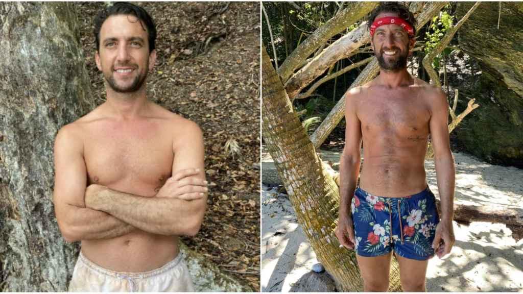 El antes y el después de Antonio Pavón.