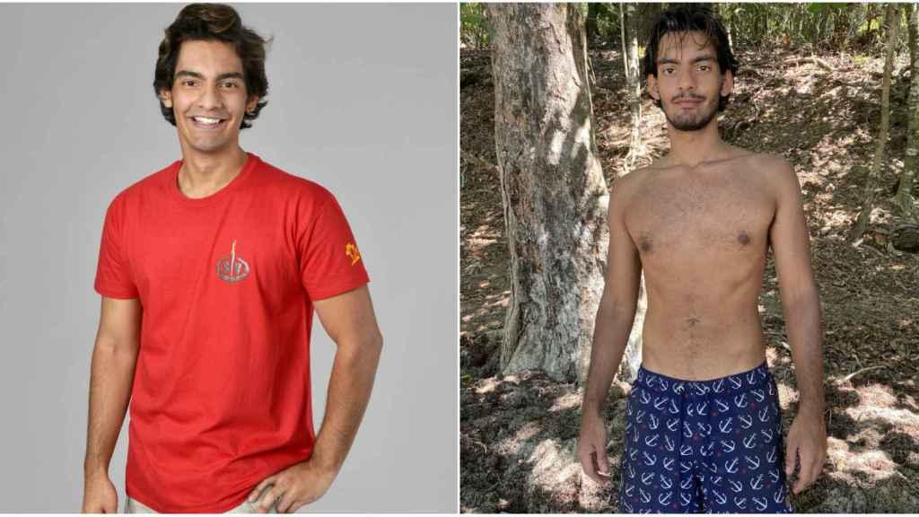 El antes y el después de Alejandro.
