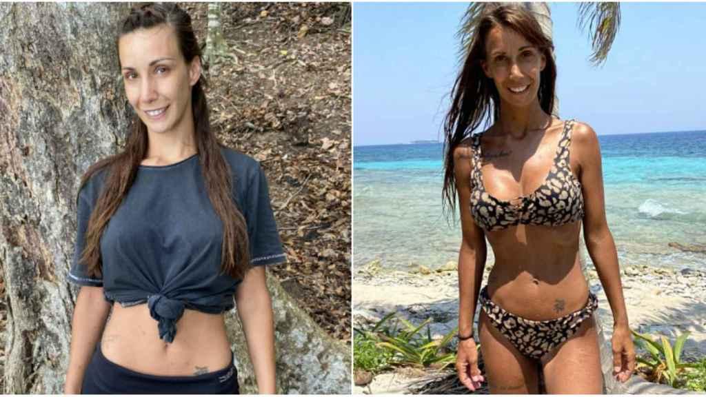 El antes y el después de Fani.