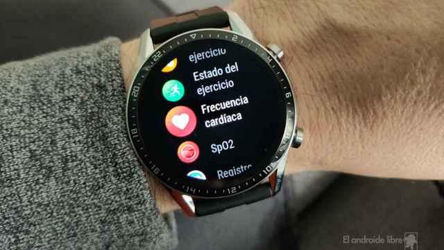 Los Huawei Watch GT2 y GT2e se actualizan y ahora puedes controlar la cámara del móvil