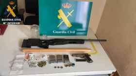 Los efectos intervenidos por la Guardia Civil en Torrijos (Toledo)