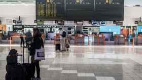 Terminal T1 nacional-internacional del Aeropuerto César Manrique de Lanzarote