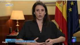 Irene Montero en 'Los Desayunos de TVE'.