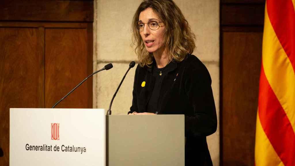 La consellera de Empresa y Conocimiento, Àngels Chacón.
