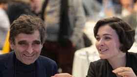 Adolfo Domínguez y su hija, Adriana Domínguez.