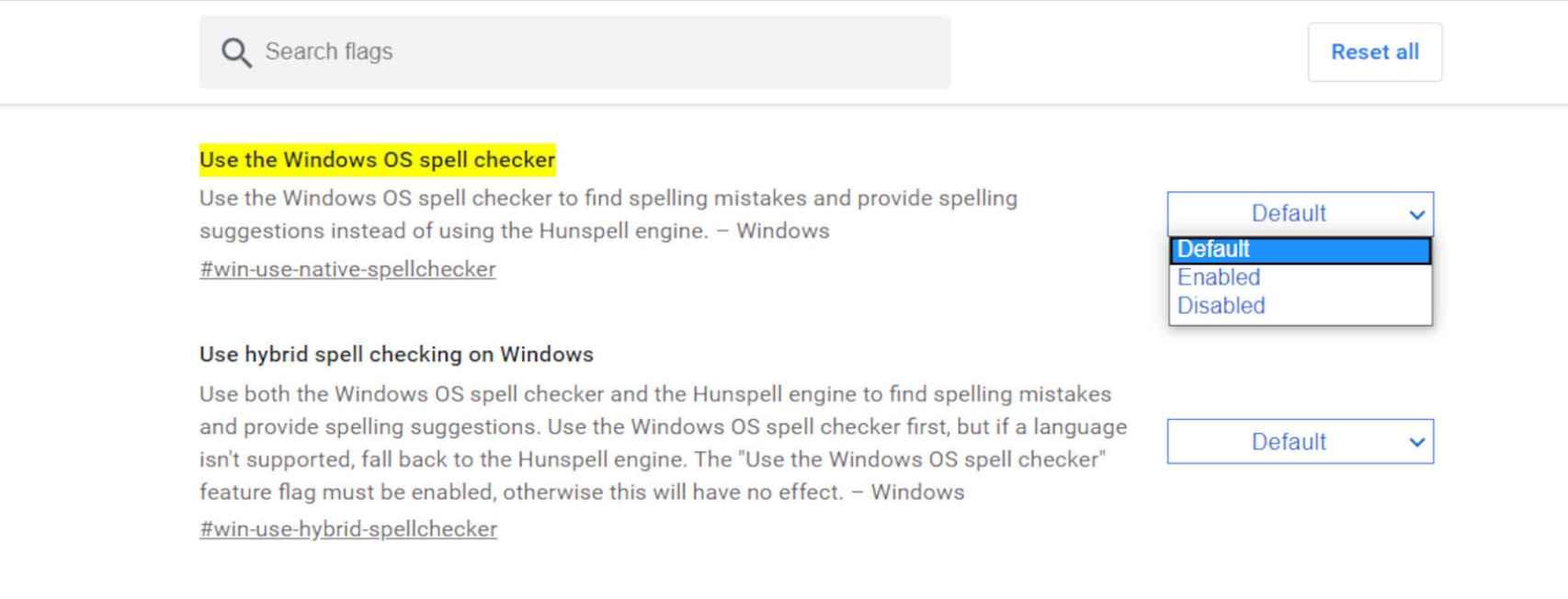 Cómo activar el nuevo corrector ortográfico en Chrome