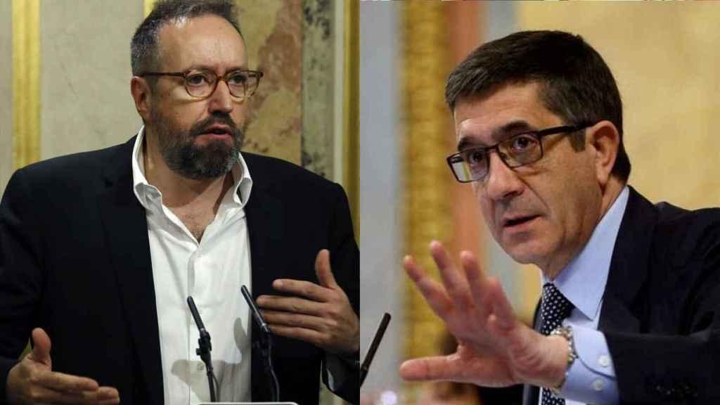 Juan Carlos Girauta y Patxi López.