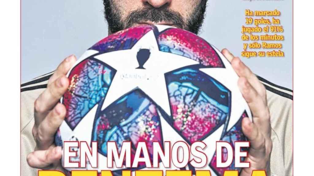 La portada del diario AS (30/05/2020)