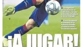 La portada del diario Mundo Deportivo (30/05/2020)