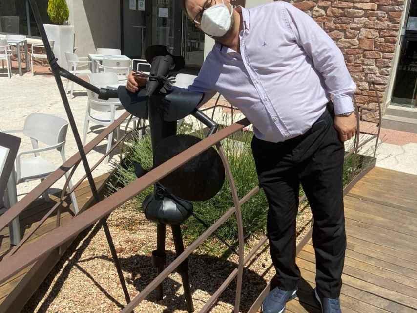 Pedro del San abrió su hotel, Ínsula Barataria, para acoger a los sanitarios