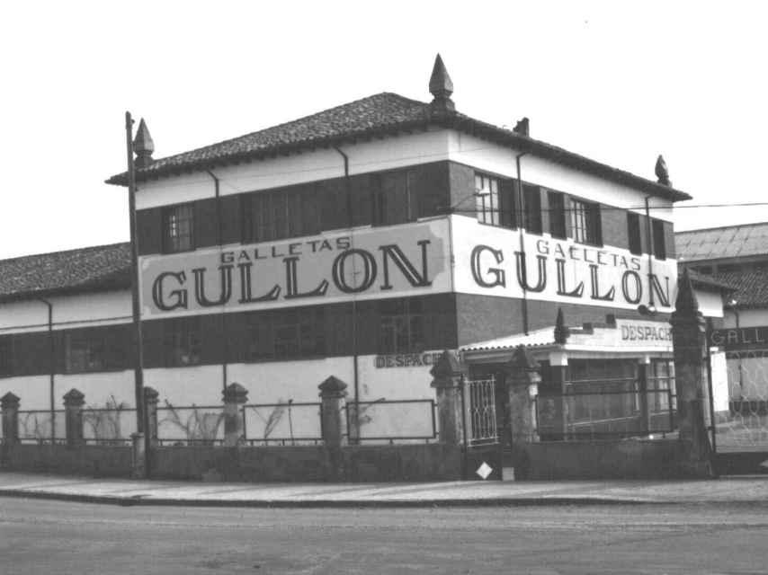 El edificio antiguo de Galletas Gullón.