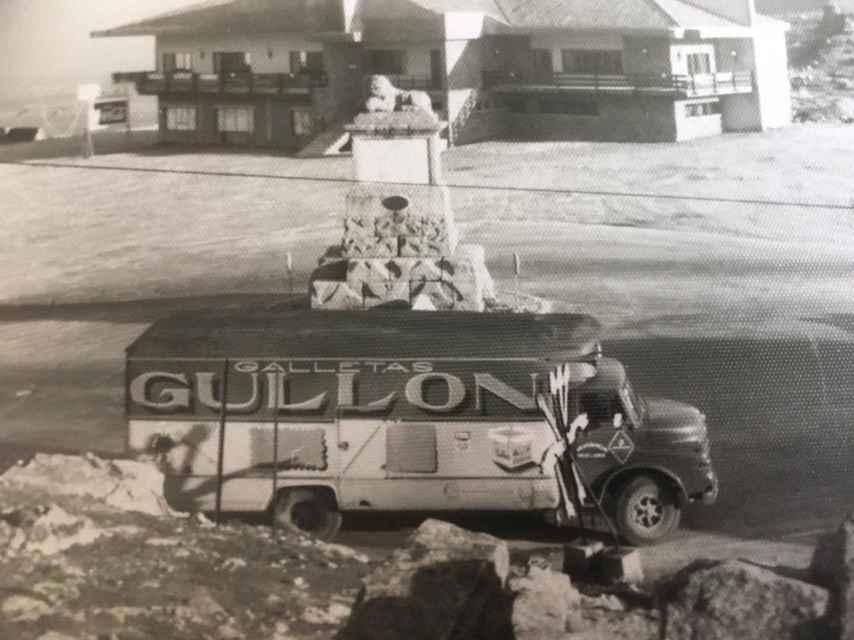 Camioneta de Gullón.