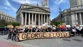Nueva York se manifiesta por la muerte de George Floyd