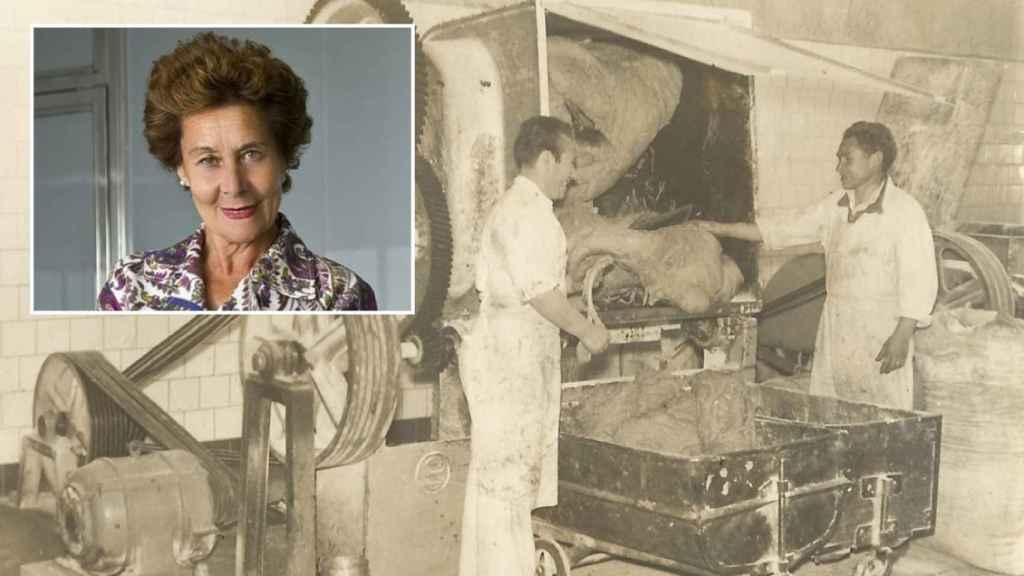 Teresa era la gran matriarca que llevaba las riendas del negocio histórico de las galletas.