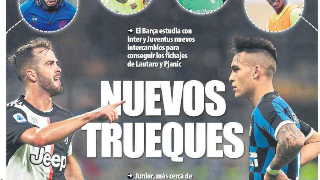 Portada Mundo Deportivo (31/05/2020)