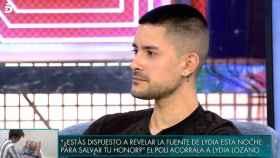 Aitor Molinero, hermano de Adara visitó el espacio de Telecinco.