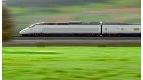 Uno de los trenes AVE en pleno funcionamiento.