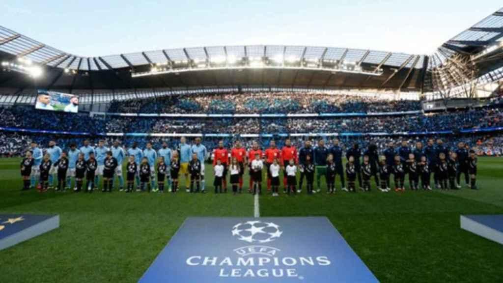 Imagen del Manchester City - Real Madrid de la Champions League