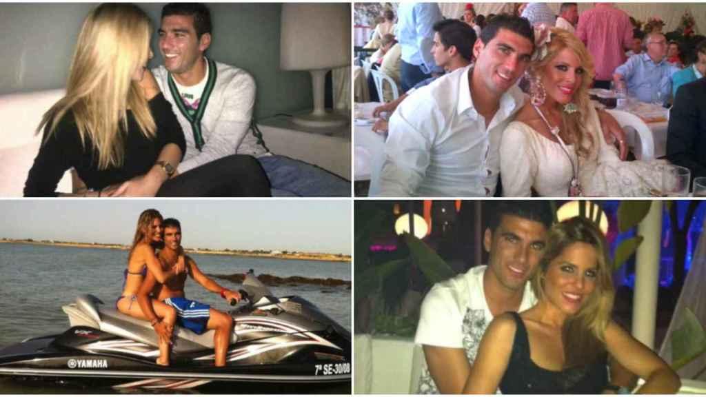 Noelia ha compartido un vídeo de 10 minutos con fotos antiguas junto al futbolista.