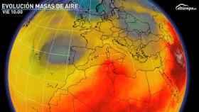 La borrasca fría que se situará sobre España en la segunda mitad de la semana. Eltiempo.es