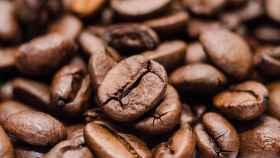Una imagen de archivo de granos de café.