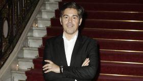 Jorge Vázquez durante un acto de la firma en El Palacio de Santa Coloma en Madrid en 2016.