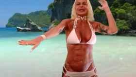 Leticia Sabater en una imagen de su nuevo vídeo, Vete pal carajo tra tra