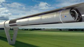 Recreación de una instalación de Hyperloop de Zeleros.